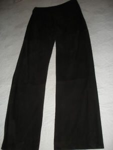 Max Mara leather/suede pants