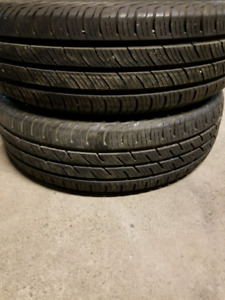 Pair(2) of 195/65/15 Continental Tires
