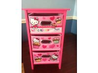 Hello kitty drawers