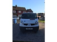 Renault traffic 2010 plate full service history
