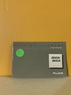 Fluke 879291 8840a8842a Digital Multimeters Getting Started