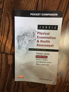 Jarvis Physical Examination & Health Assessment Pocket Companion