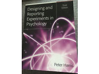 'Designing and Reporting Experiments in Psychology', Peter Harris