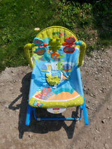 Bouncer, Stroller and High Chair