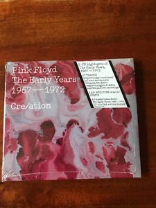 PINK FLOYD CD -The early years 1967-1972. NEW unopened