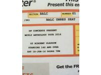 Mcfly tickets 2