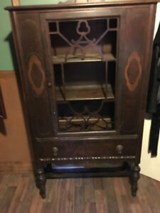 Antique china cabinet , $450 OBO