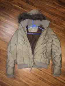 Very Warm, Green Parka Size Small