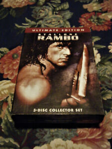 3-Disc Collector's Set Of Rambo Movies