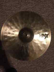 "Sabian HHX cymbals 17"" x-treme crash / 10"" splash"