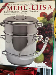 Juicer/steamer/cooker