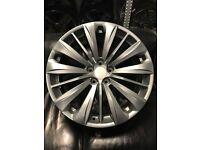 "20"" alloy wheels alloys rims tyre tyres 5x120 BMW 5 6 7 series Vw Volkswagen transporter t5"