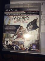 Assassin creed BF BLack flag PS3 + version digitale PS4 nego