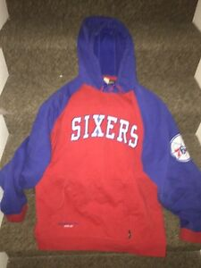 Selling brand new vintage Sixers sweater
