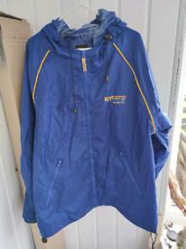 Unisex rain coat large