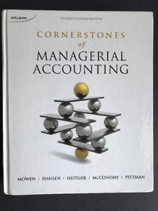 Cornerstones of Managerial Accounting 2nd Edition