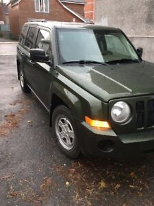 Patriot 2008, 4*4, clean, low mileage with 8 tires