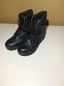 Black Leather Boots. Security/Police Boots
