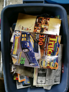 Car mags and catalogs