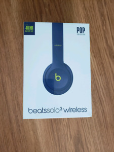 Beats Solo 3+factory sealed