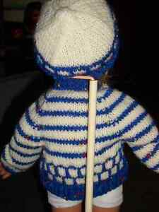 doll clothes  DOLL SWEATER /HAT FOR 18 IN DOLL Windsor Region Ontario image 2