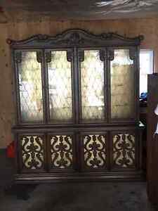 Tall China Cabinet Perfect for Large Dining Rooms