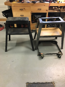 Piètement pour outils / Table base system for tools