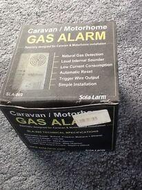 Motorhome/caravan gas alarm