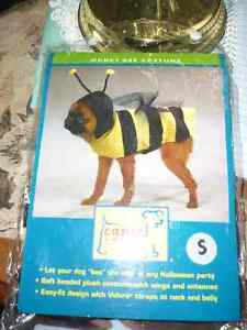 Casual Canine Polyester Honey Bee Dog Costume, Small 12-Inch,