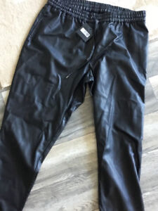 NWT Plus size faux leather pants sz. 18