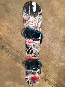 NEW 153 Endeavor Snowboard with Ride Bindings