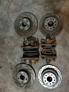 Subaru impreza wrx calipers and pads