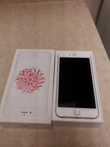 White/Silver  iPhone 6 PLUS excellent perfect condition