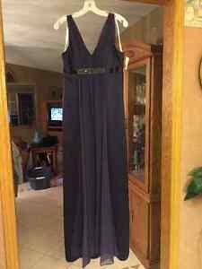 Plum purple dress
