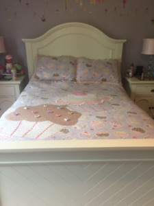 Girls Double/Full Cupcake Quilt and Shams