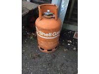 Shell empty gas bottle