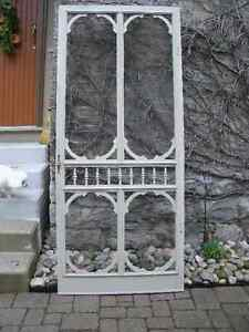 Antique Screen Door""