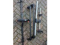 Roof bars and cycle rack for Vauxhall Corsa