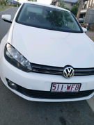 2012 VW Golf 118TSI Comfortline - White Miami Gold Coast South Preview
