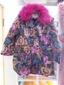 Monsoon age 7-8 winter coat