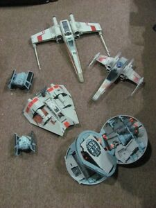 STAR WARS FIGHTERS ALL SELLING TOGETHER , NEW CONDITION asking $