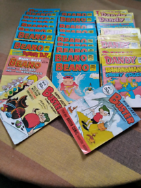 Beano ** Dandy,** Buster. Comic Librarys all as shown £4