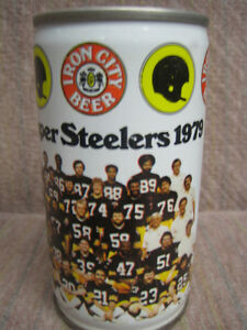 Pittsburgh Steelers Beer Can