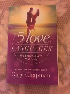 The 5 Love Languages -Book by Gary Chapman