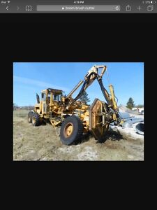Wanted : heavy duty brush cutter on boom