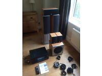 Onkyo 7.1 Home cinema AV System & QA speaker set - amazing quality