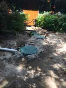 Small Area Septic System Installation