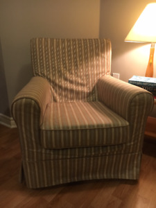 Ikea Jennylund armchair with removable cover