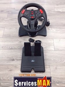 Volant pour playstation 2 Interact V3fx SV-1119