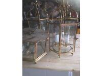 Antique Brass light fittings